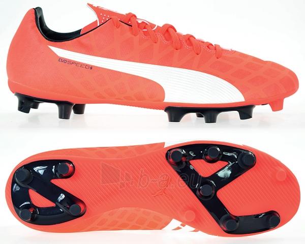 Futbolo bateliai PUMA EVO Speed 5.4 FG 103286 01 Paveikslėlis 1 iš 4 310820141424