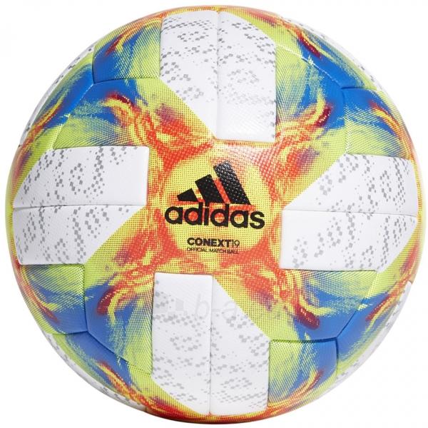 Futbolo kamuolys adidas Conext 19 OMB Ekstraklasa ED4933 Paveikslėlis 1 iš 7 310820175240