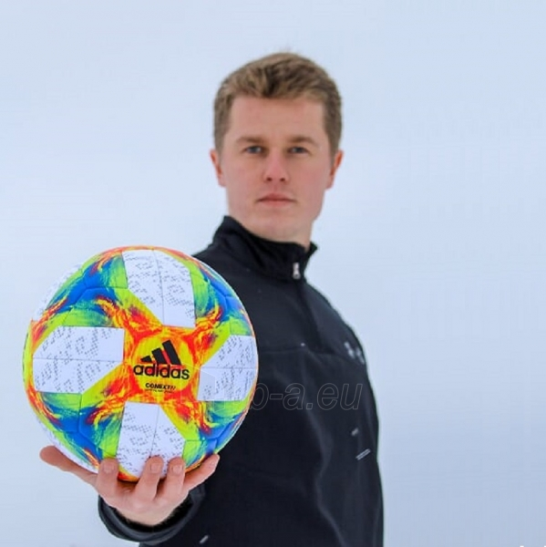 Futbolo kamuolys adidas Conext 19 OMB Ekstraklasa ED4933 Paveikslėlis 7 iš 7 310820175240