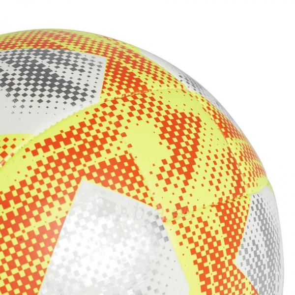 Futbolo kamuolys ADIDAS CONEXT 19 TOP CAPITANO DN8636 white-yellow Paveikslėlis 4 iš 5 310820168922