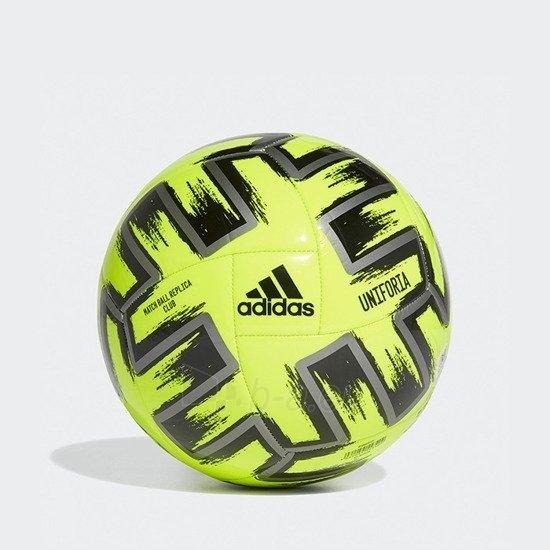 Futbolo kamuolys adidas EURO2020 UNIFORIA CLUB FP9706 yellow Paveikslėlis 1 iš 1 310820201285