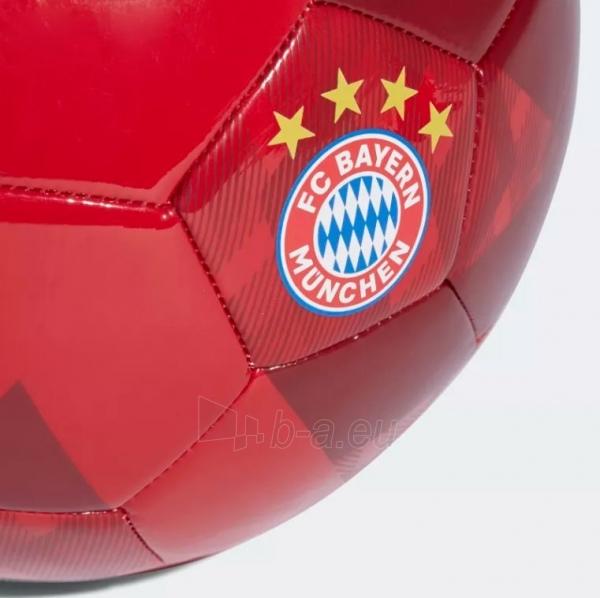 Futbolo kamuolys adidas FC BAYERN CW4155 raudonas Paveikslėlis 4 iš 5 310820154494