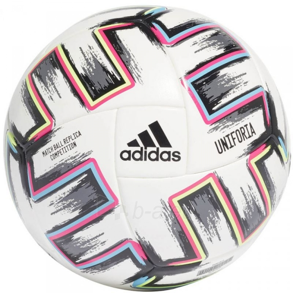 Futbolo kamuolys adidas Uniforia Competition Euro 2020 FJ6733 Paveikslėlis 1 iš 3 310820199443