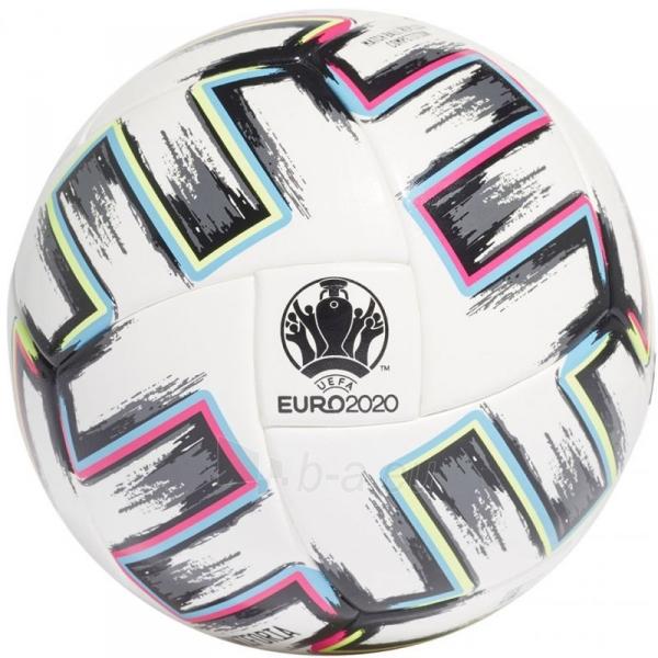 Futbolo kamuolys adidas Uniforia Competition Euro 2020 FJ6733 Paveikslėlis 2 iš 3 310820199443