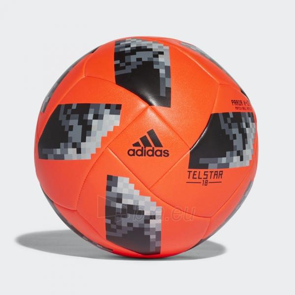 Futbolo Kamuolys adidas World Cup 2018 PRAIA X-ITE CE8142 raudonas, pliažo Paveikslėlis 1 iš 5 310820154486