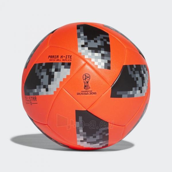 Futbolo Kamuolys adidas World Cup 2018 PRAIA X-ITE CE8142 raudonas, pliažo Paveikslėlis 2 iš 5 310820154486