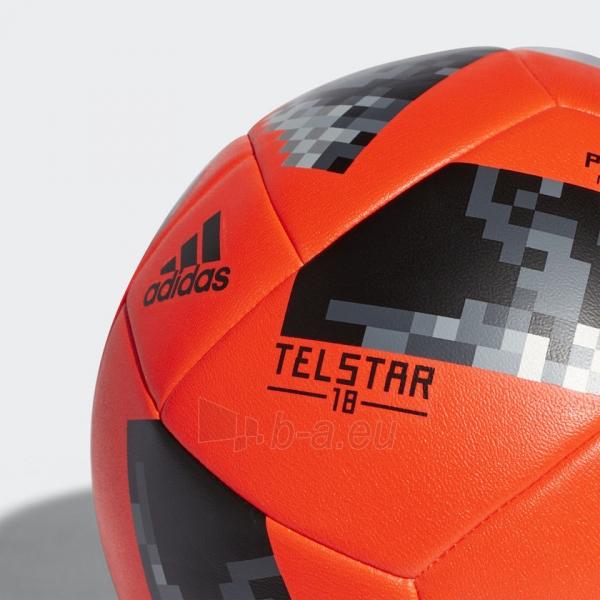 Futbolo Kamuolys adidas World Cup 2018 PRAIA X-ITE CE8142 raudonas, pliažo Paveikslėlis 3 iš 5 310820154486