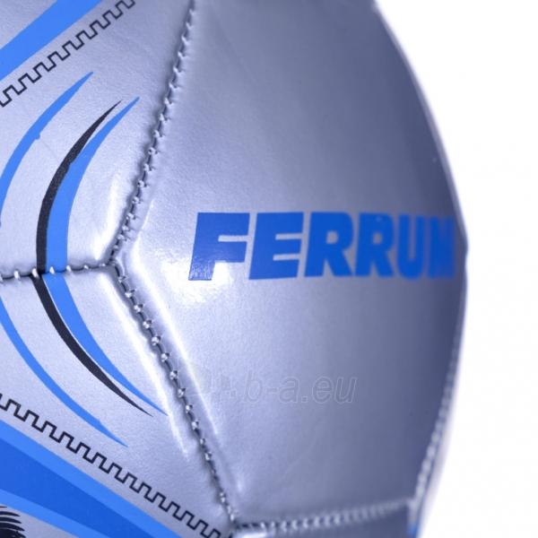 Futbolo kamuolys Ferrum mėlynas Paveikslėlis 4 iš 7 310820101604