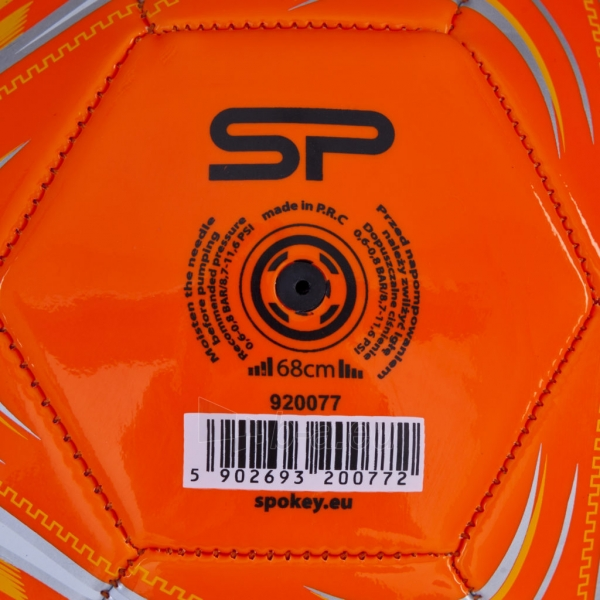 Futbolo kamuolys Ferrum oranžinis Paveikslėlis 4 iš 7 310820101681