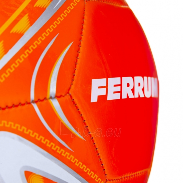 Futbolo kamuolys Ferrum oranžinis Paveikslėlis 7 iš 7 310820101681