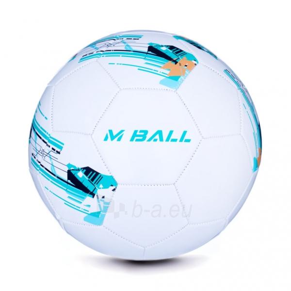 Futbolo kamuolys MBALL baltas Paveikslėlis 1 iš 7 310820101670