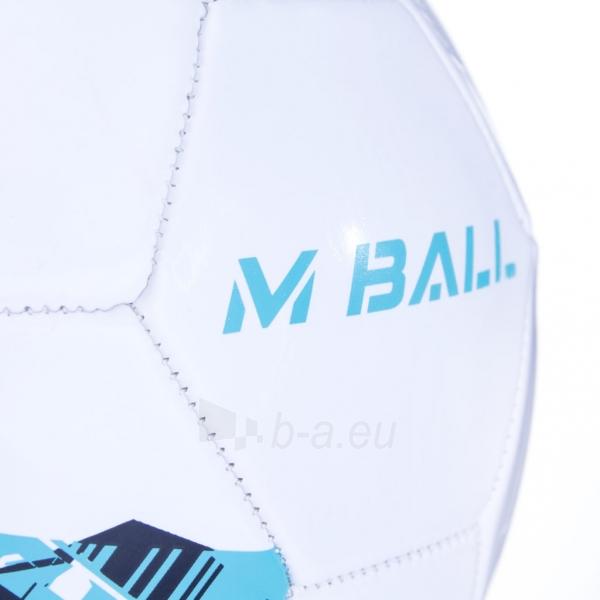 Futbolo kamuolys MBALL baltas Paveikslėlis 5 iš 7 310820101670