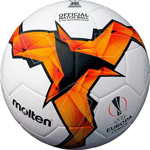 Futbolo kamuolys MOLTEN F5U5003-K19 UEFA Europa League oficialus PU Paveikslėlis 1 iš 1 310820178246