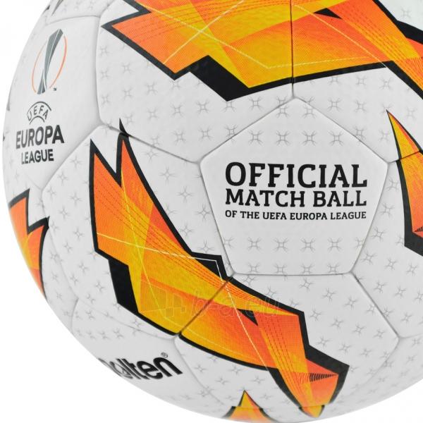 Futbolo kamuolys Molten Official UEFA Europa League F5U5003-G18 Paveikslėlis 4 iš 6 310820173916