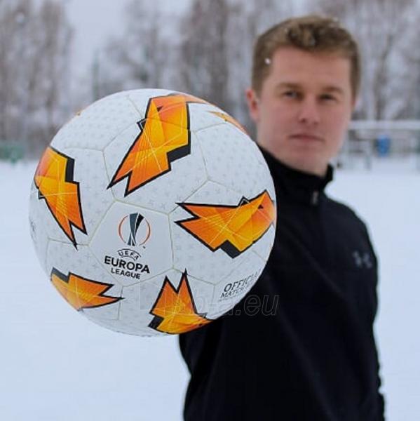 Futbolo kamuolys Molten Official UEFA Europa League F5U5003-G18 Paveikslėlis 6 iš 6 310820173916