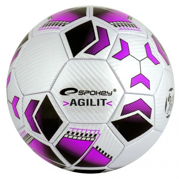 Futbolo kamuolys Spokey AGILIT Purple Paveikslėlis 1 iš 7 310820024220