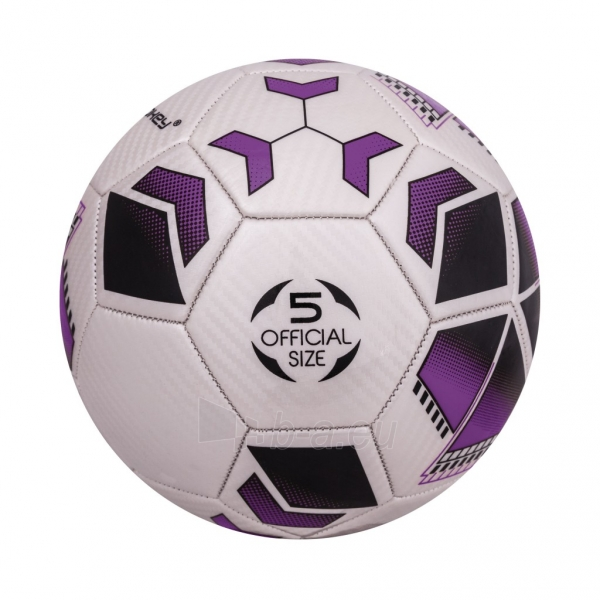 Futbolo kamuolys Spokey AGILIT Purple Paveikslėlis 7 iš 7 310820024220