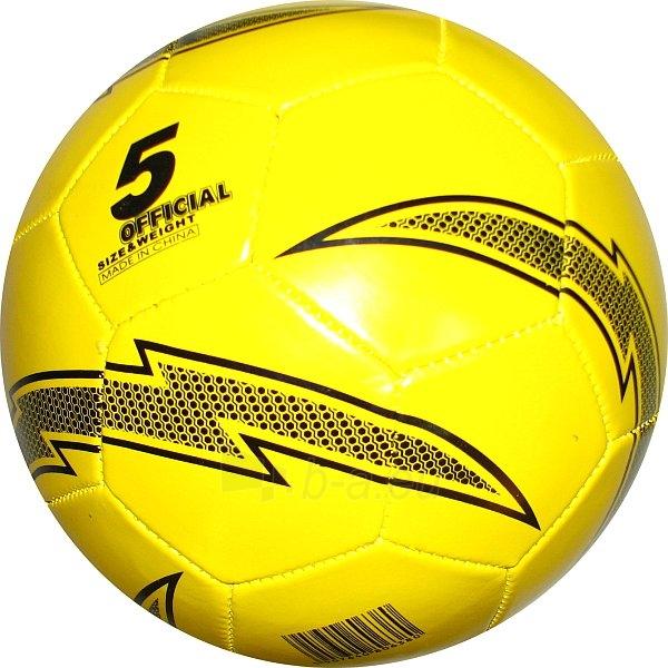 Futbolo kamuolys Spokey CBALL Yellow Paveikslėlis 1 iš 1 310820002216