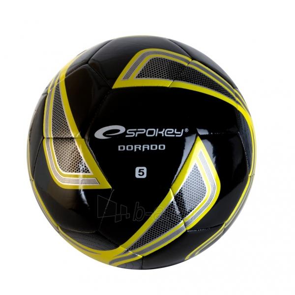 Futbolo kamuolys Spokey DORADO Black Paveikslėlis 1 iš 1 310820011873