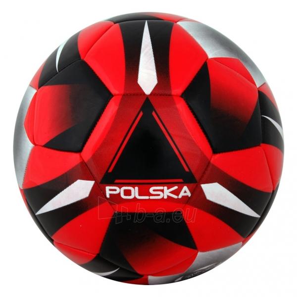 Futbolo kamuolys Spokey E2016 POLSKA Red/black Paveikslėlis 1 iš 1 310820025958