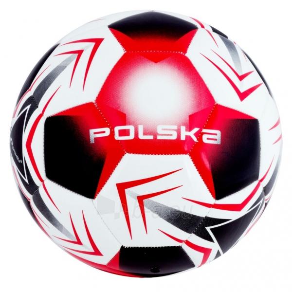 Futbolo kamuolys Spokey E2016 POLSKA Red/white Paveikslėlis 1 iš 7 310820025957
