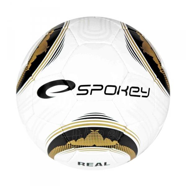 Futbolo kamuolys Spokey REAL BL/GOLD Paveikslėlis 1 iš 1 310820001351