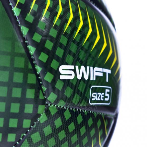 Futbolo kamuolys SWIFT žalias/geltonas Paveikslėlis 4 iš 6 310820106190