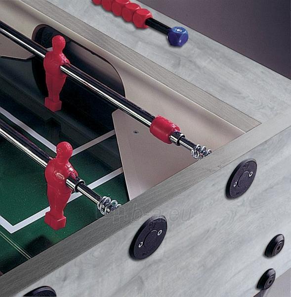 Futbolo stalas GARLANDO G-500 G500GRULNO grey oak Paveikslėlis 2 iš 2 310820231486