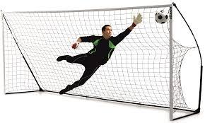 Futbolo vartai QuickPlay 4.9 x 2.1 m Paveikslėlis 1 iš 4 310820018323