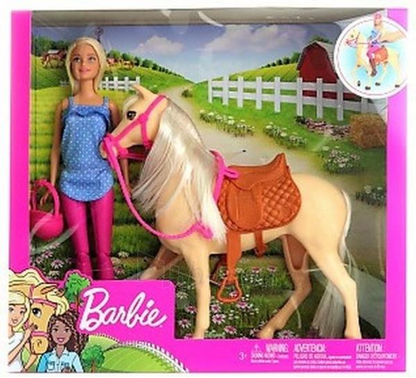FXH13 Mattel Barbie Барби и лошадь Cheaper online Low price