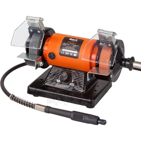 Galąstuvas - šlifavimo mašinėlė su lanksčiu velenu BORT BDM-110-FS Paveikslėlis 1 iš 4 310820193748