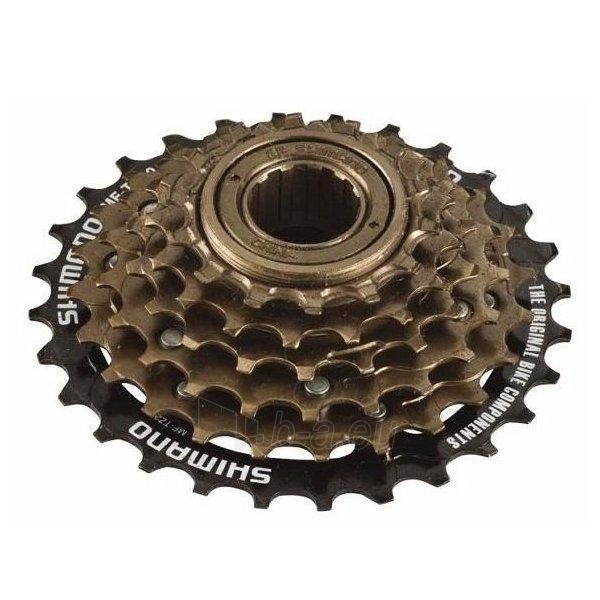 Galinis žvaigždžių blokas Freewheel 6-Speed brown Paveikslėlis 1 iš 1 310820080151
