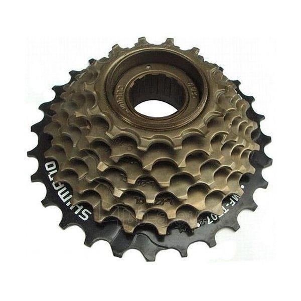 Galinis žvaigždžių blokas Freewheel 7-Speed brown Paveikslėlis 1 iš 1 310820080150