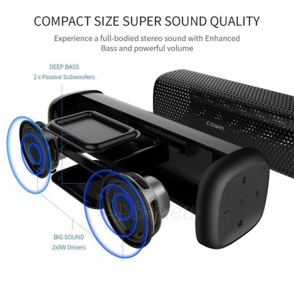 Garso kolonėlė Cowin Mighty Rock Portable Speaker MD-6110 Paveikslėlis 2 iš 7 310820206172