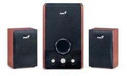 Genius Speakers RS, SW-HF2.1 1700,wood, EU, 230V Paveikslėlis 1 iš 2 250255800476