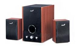 Genius Speakers RS, SW-HF2.1 1700,wood, EU, 230V Paveikslėlis 2 iš 2 250255800476