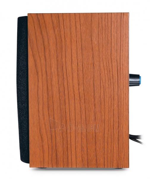Genius Speakers SP-HF160, USB, wooden Paveikslėlis 2 iš 4 250214000789