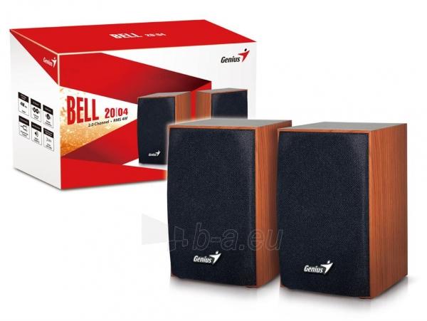 Genius Speakers SP-HF160, USB, wooden Paveikslėlis 4 iš 4 250214000789