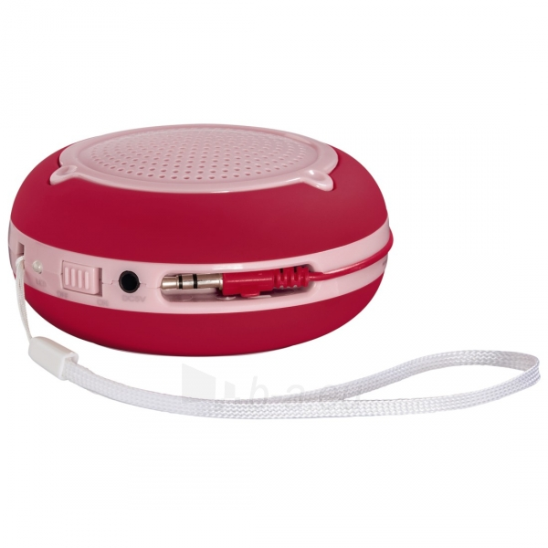 HAMA Pocket Mobile Speaker red Paveikslėlis 1 iš 1 310820009478