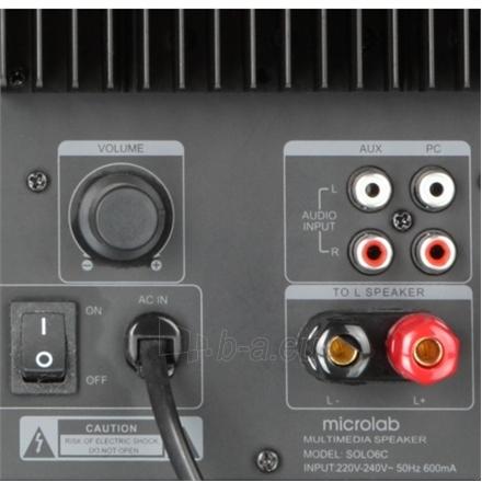 Garso kolonėlė Microlab SOLO6C 2.0 Speakers/ 100W RMS (50W+50W)/ Remote Control Paveikslėlis 5 iš 6 250214000084
