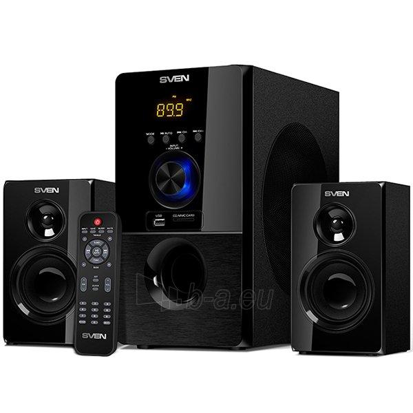 Audio speakers Bluetooth speakers SVEN MS-2050, black (55W, FM, USB/SD, Display, RC, Bluetooth) Paveikslėlis 1 iš 1 310820042193
