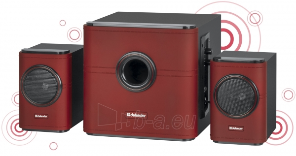 Garso kolonėlės DEFENDER 2.1 Act speaker G10 30 W Paveikslėlis 1 iš 1 310820047790