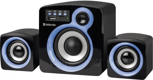 Garso kolonėlės DEFENDER 2.1 Act speaker Z5 16W USB Paveikslėlis 1 iš 1 310820047789