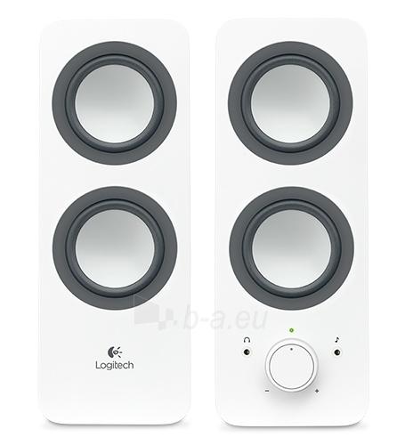 Garso kolonėlės LOGI Z200 Speaker 2.0 Snow White Paveikslėlis 1 iš 1 310820218913
