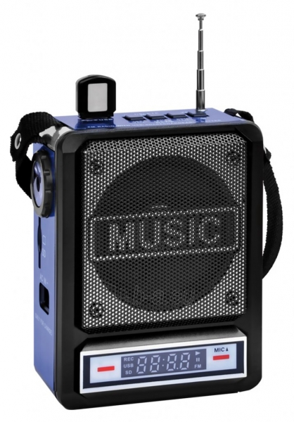 Garso kolonėlės Manta RDI102 FM Mic Paveikslėlis 1 iš 2 310820223386