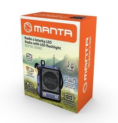 Garso kolonėlės Manta RDI102 FM Mic Paveikslėlis 2 iš 2 310820223386