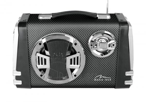 Garso kolonėlės Portable Bluetooth speaker system MediaTech Karaoke Boombox BT with mic. Paveikslėlis 2 iš 3 310820042302