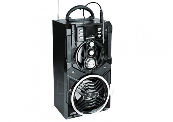 Audio speakers Portable Bluetooth speaker system MediaTech Partybox BT with karaoke function Paveikslėlis 2 iš 3 310820042303