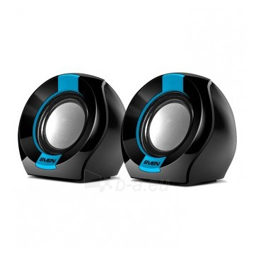 SVEN 150, 2.0 speakers, black-blue, USB, power output 2x2.5W (RMS) Paveikslėlis 1 iš 1 310820000631