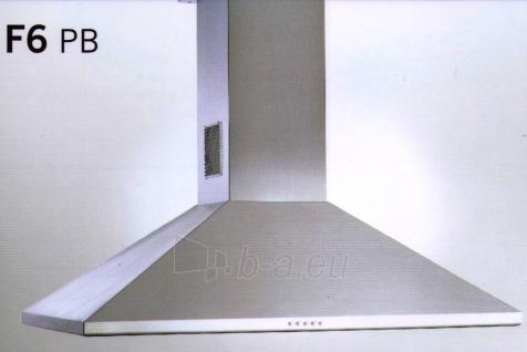 Tvaika nosūcējs Airforce F6 90X60 650 IX PL Paveikslėlis 1 iš 1 2501130000839